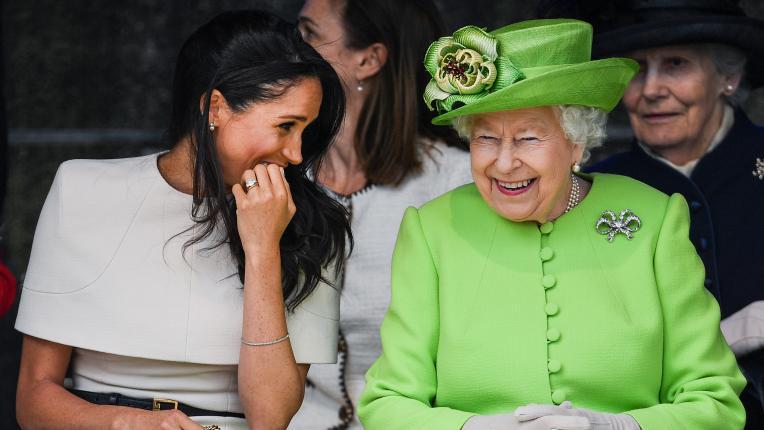 Когато кралското семейство се смее