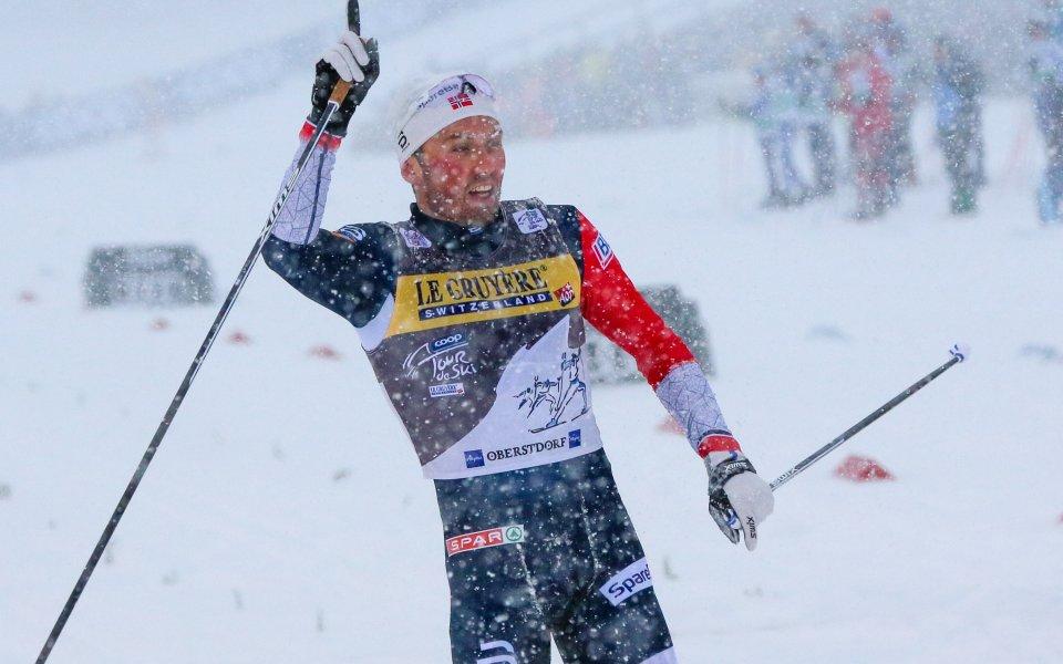 Иверсен спечели четвъртия старт от Тур дьо ски