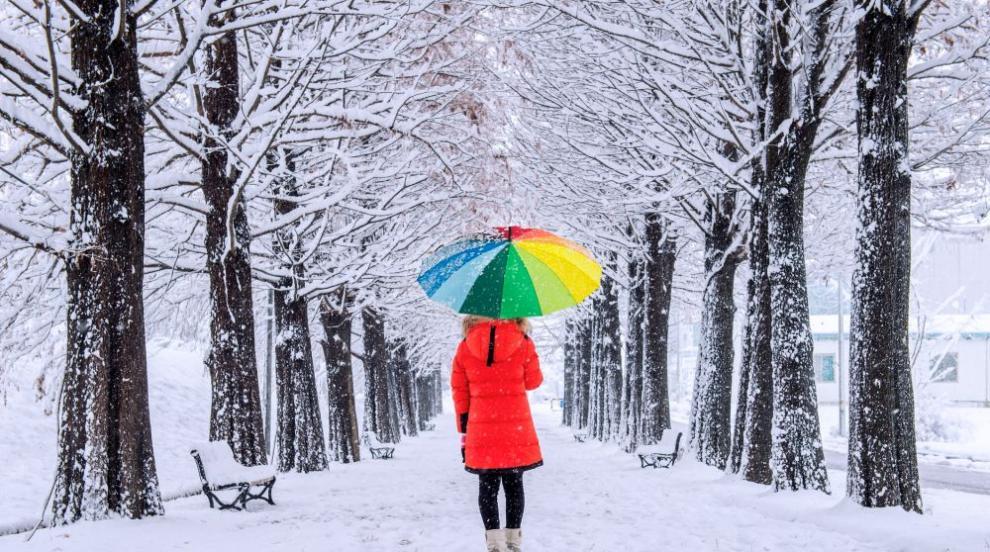 Жълт код за силен вятър и снеговалежи в 8 области