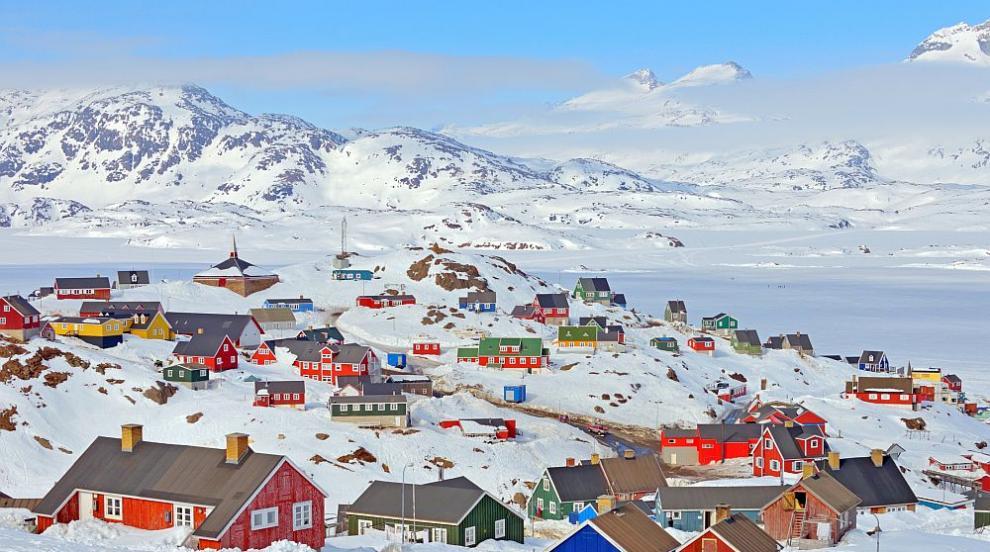 От ледената покривка в Гренландия се отделя голямо количество метан