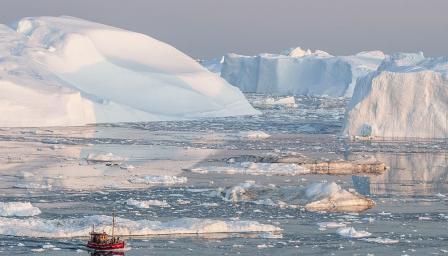 Един от най-бързо топящите се ледници нараства отново