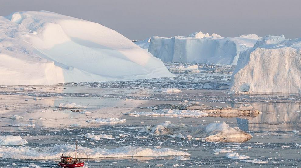 Един от най-бързо топящите се ледници нараства отново (ВИДЕО)