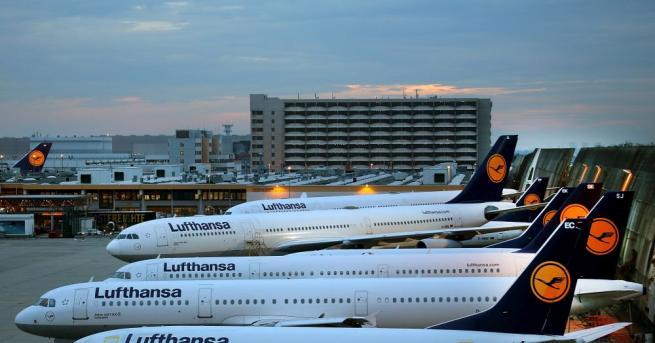 Въздушният трафик в Германия ще бъде нарушен утре сутринта заради