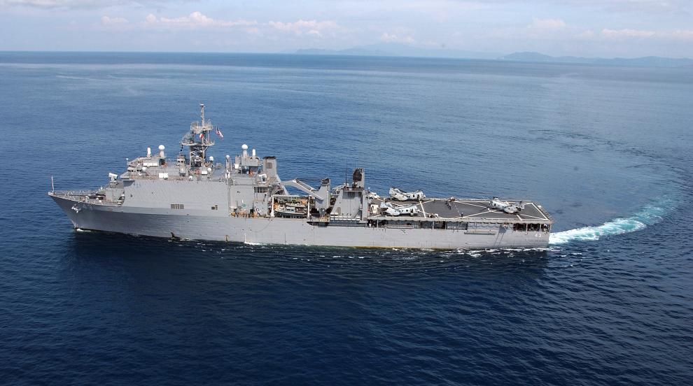 Американски десантен кораб навлезе в Черно море
