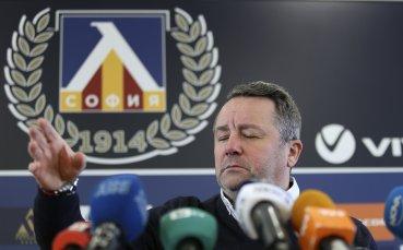 Шеф в Левски: Не говорим за раздяла със Стоянович