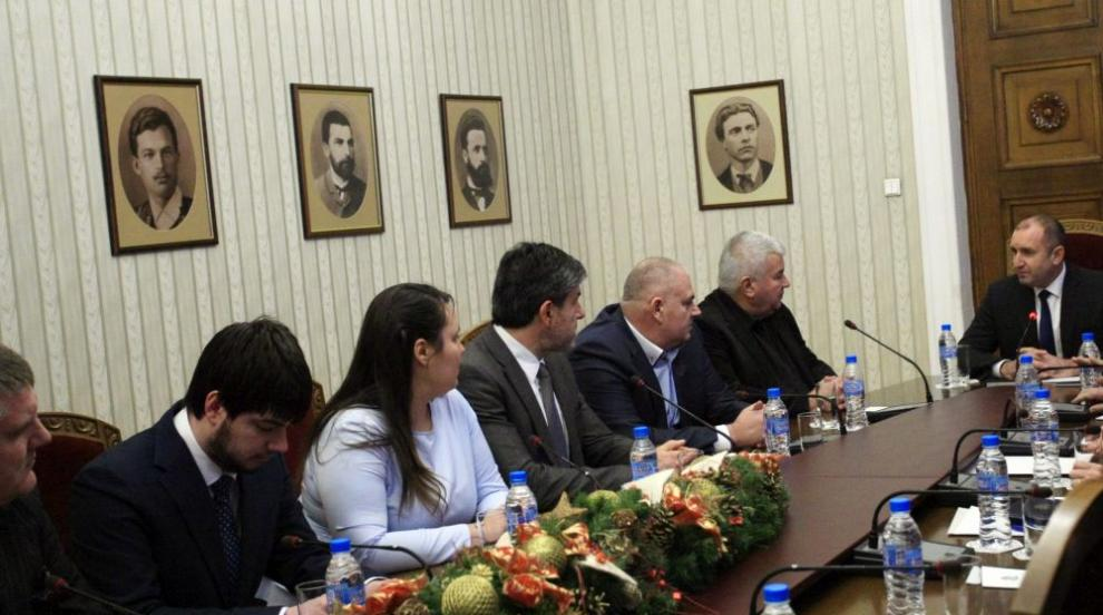 Президентът Радев изрази подкрепа към исканията на превозвачите
