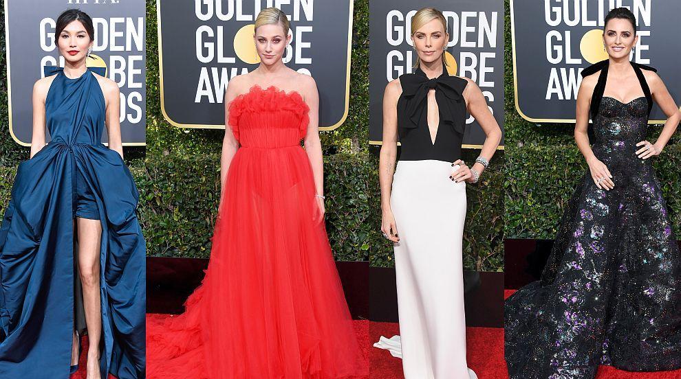 Най-добре и най-зле облечените звезди на наградите Златен глобус (СНИМКИ)