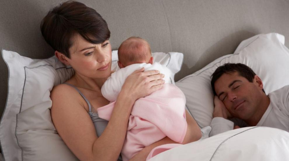 Как да имате щастлив брак след появата на бебето?  (ВИДЕО)