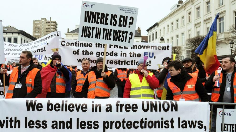 Победа или загуба донесе протестът на превозвачите в Брюксел?