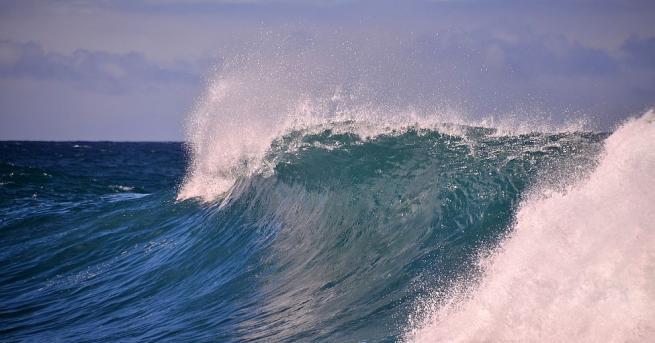 В необичайна реч, произнесена от морските дълбини, президентът на Сейшелските