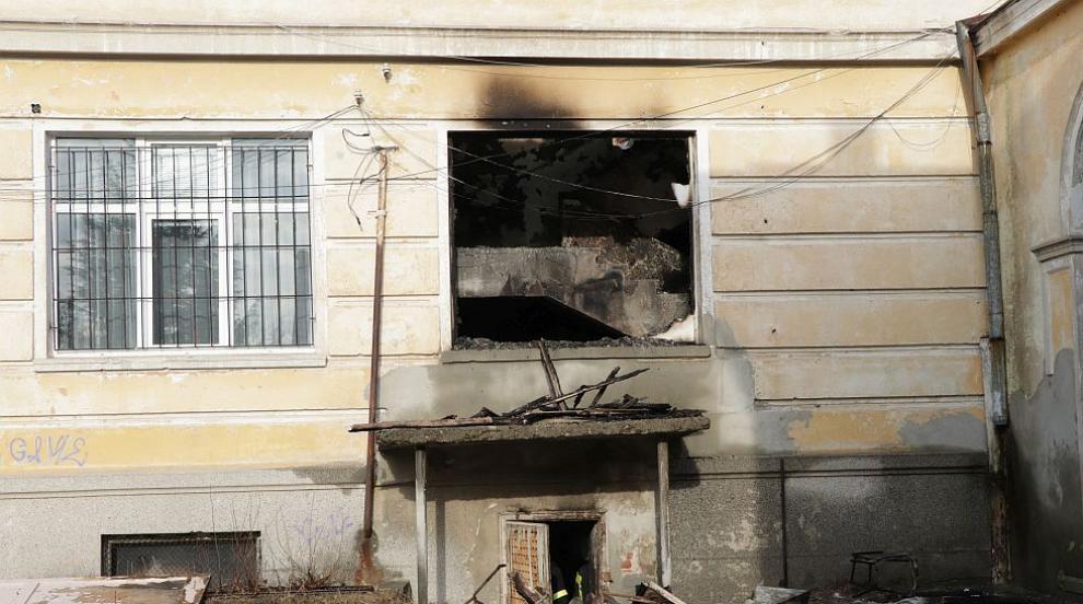 Пожар в кърджалийско училище, има пострадали (ВИДЕО)