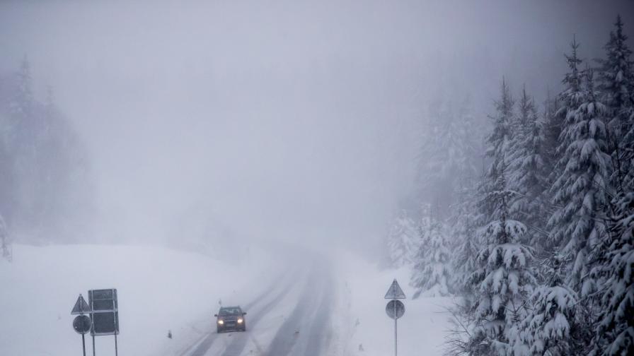 Застудяване, през март и сняг, и топли дни
