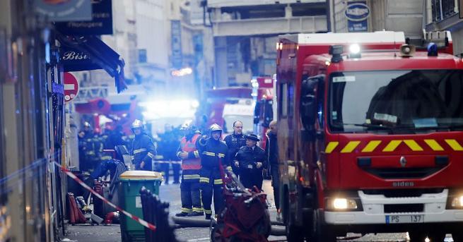 При днешния взрив в хлебарница в Париж са загинали четирима