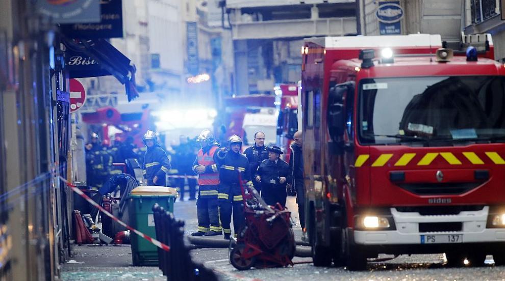 Жертви и много ранени при експлозията в Париж (СНИМКИ/ВИДЕО)