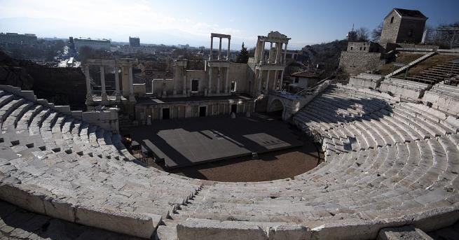 Пловдив, който след броени часове официално става Европейска столица на