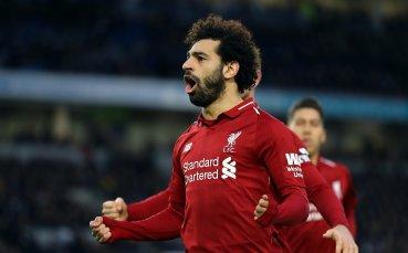 Мохамед Салах е най-ефективният футболист в историята на Висшата лига