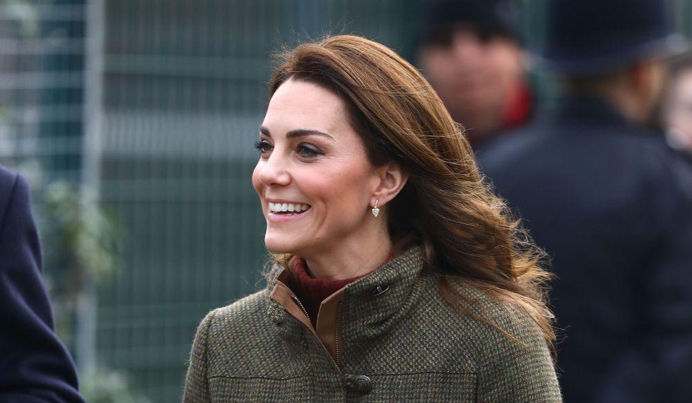 Херцогинята избра семпло и небрежно облекло за своята първа публична поява за 2019 година