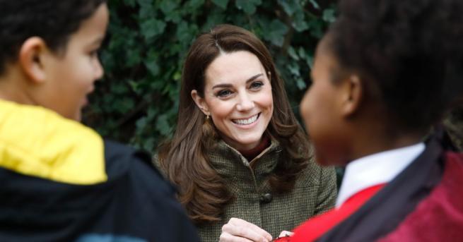 Херцогинята на Кембридж Катрин ще проектира