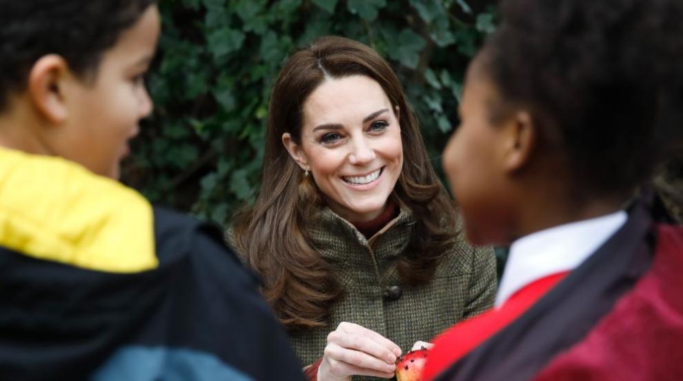 Херцогиня Кейт ще проектира градина за изложението за цветя в Челси (СНИМКИ)