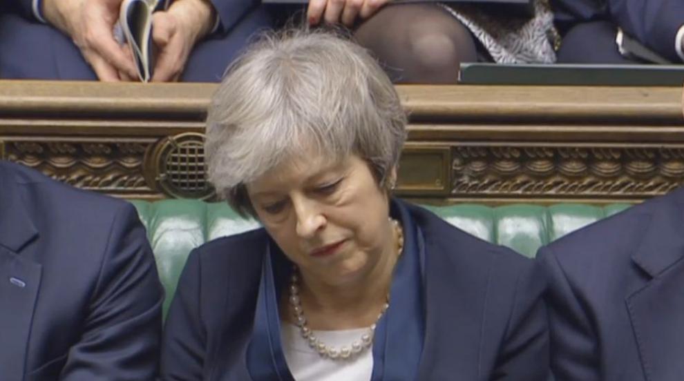 Тереза Мей с ново поражение, парламентът отхвърли предложението по...