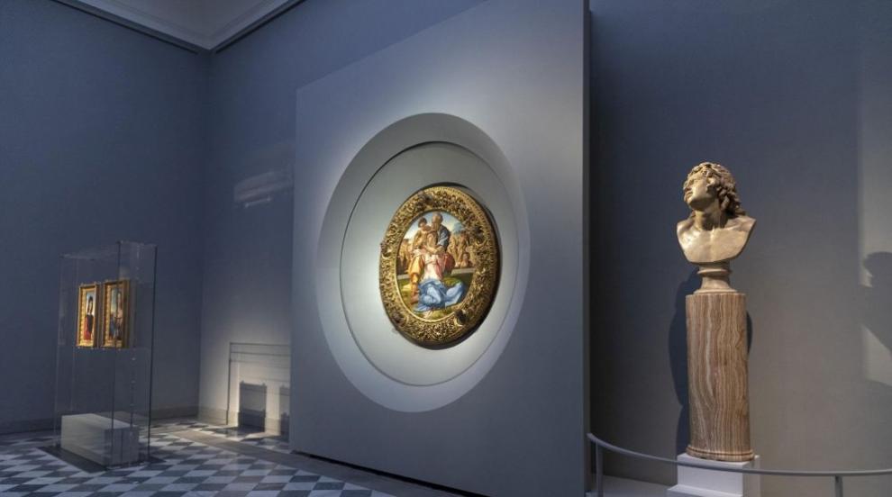 Предполагаема картина на Микеланджело изчезна от църква в Белгия