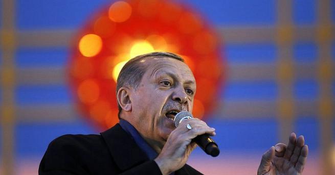 Турският президент Реджеп Ердоган в сряда заяви, че е