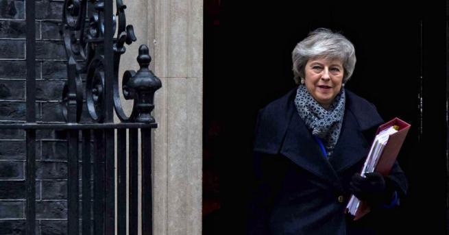 Снимка: Мей иска да проучи какво споразумение за Брекзит би получило подкрепата на депутатите