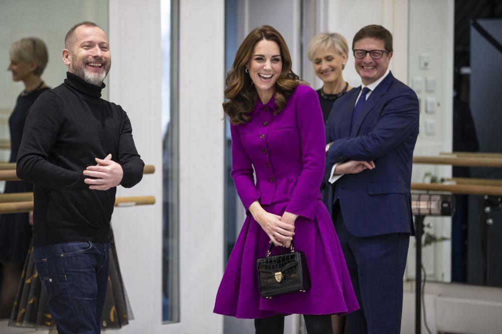 Херцогинята не се притеснява да заложи на един тоалет два пъти