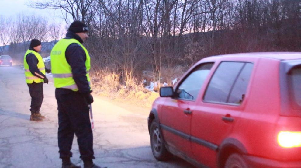 Задържаха избягалия от полицейската гонка в Старозагорско