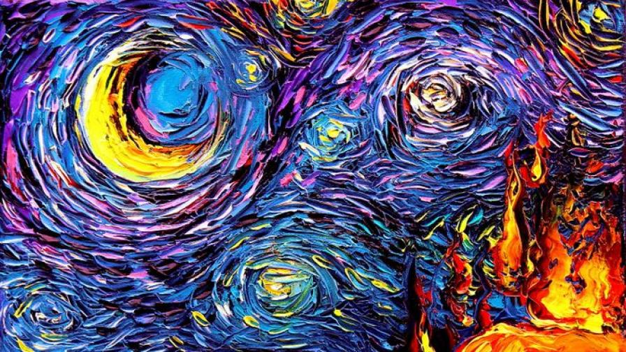 Айа Триер - талантливата художничка, бъркана...