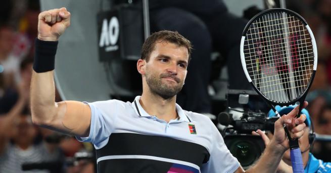 Българската звезда Григор Димитров се класира сред 16-те най-добри на