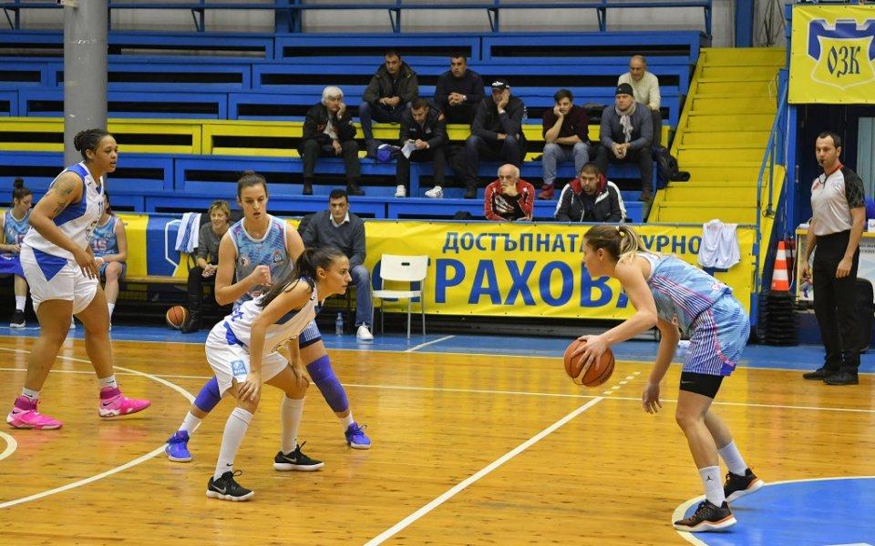 Монтана разби Славия в баскетболното първенство