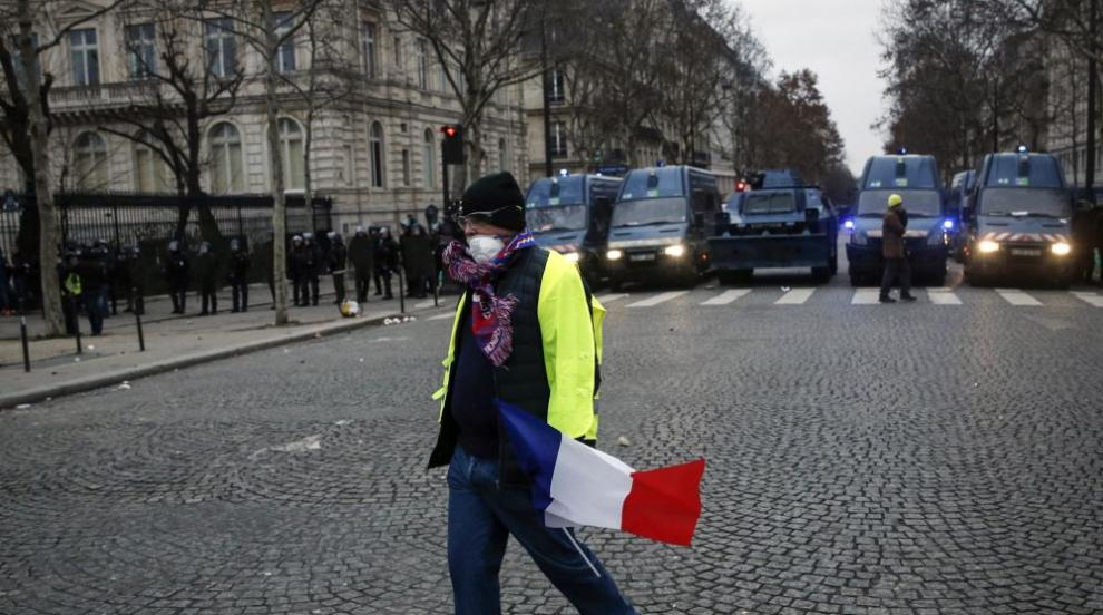 """""""Жълтите жилетки"""" планират протести за десета поредна събота"""