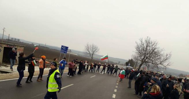 Стотина души от шуменските квартали Макак и Мътница излязоха на