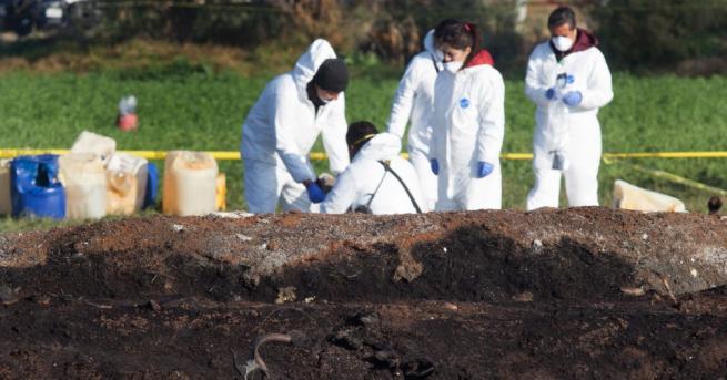 Броят на загиналите при експлозията на тръбопровод за транспортиране на