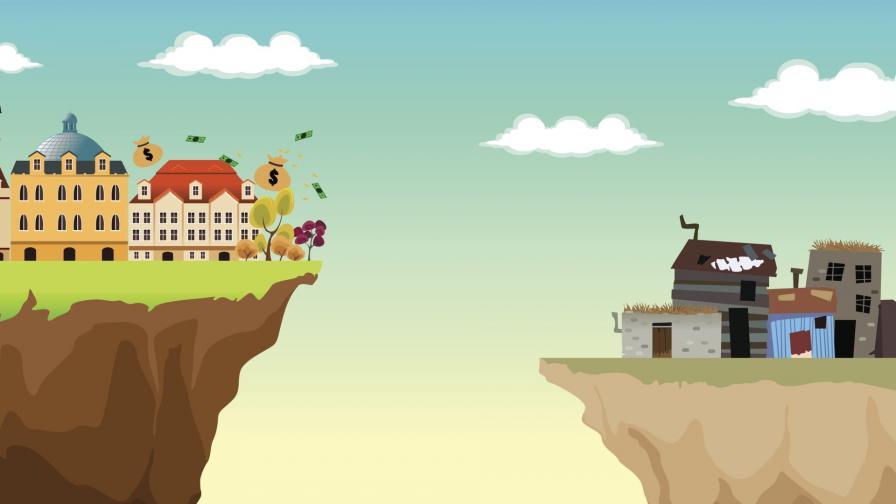 <p>Оксфам: Увеличава се пропастта между бедни и богати</p>