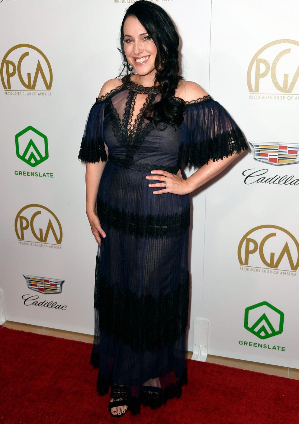 Джесика Хоровиц на наградите на американската Гилдия на продуцентите