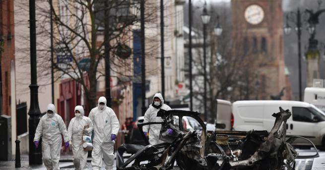 Полицията в ирландския град Лондондери обяви нова тревога за сигурността