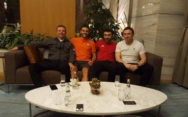 Жуниор Мораес и Стойчо Младенов се събраха в Турция