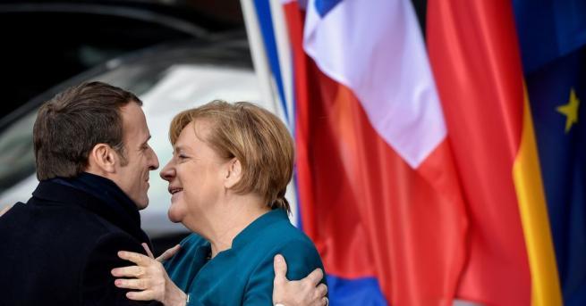 Германската канцлерка Ангела Меркел призна, че има конфронтации с френския