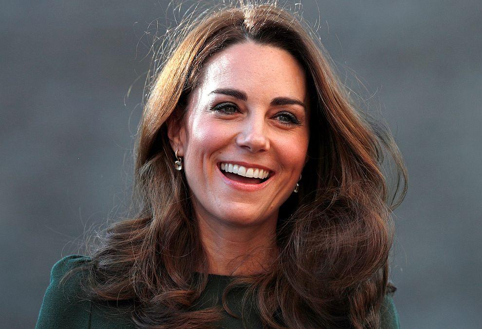 Херцогиня Катрин в Лондон