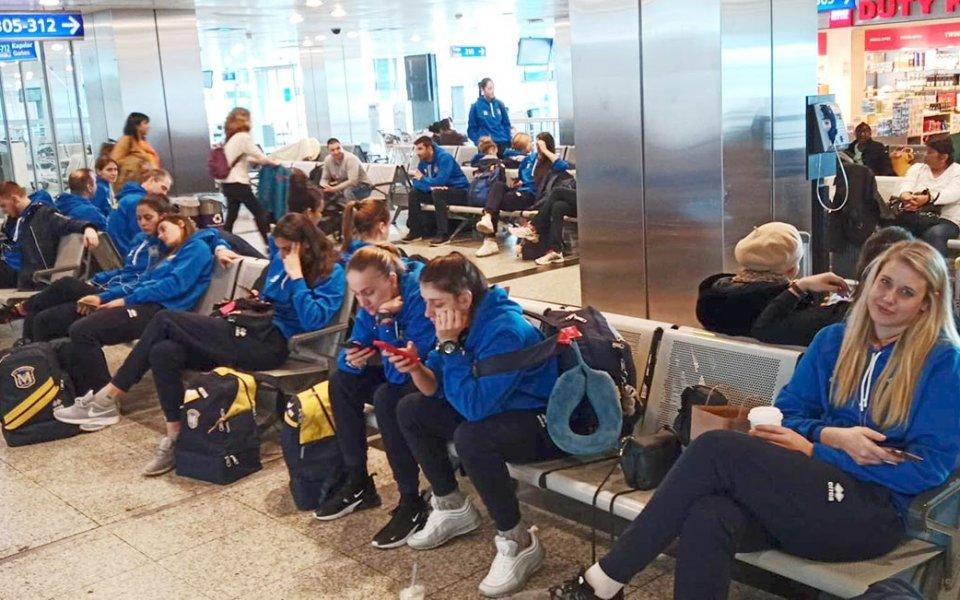 Волейболистките на Марица заминаха за Щутгарт
