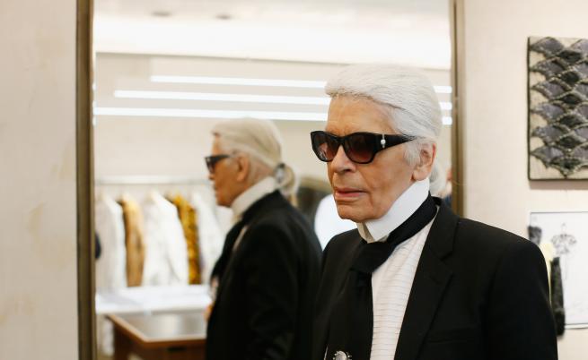 Карл Лагерфелд: Слънчевите очила са моята бурка