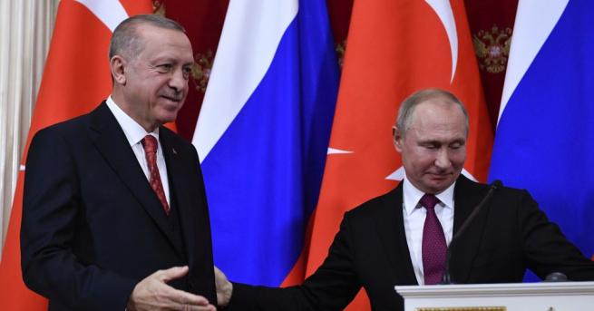 Руският президент Владимир Путин разчита, че сухопътният участък от газопровода