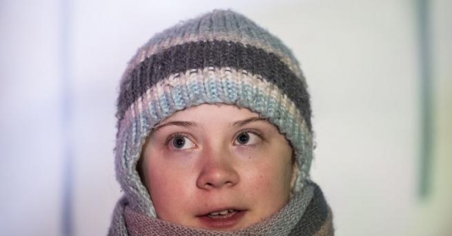 Шестнадесетгодишна шведска ученичка, която стана известна по света с протестните