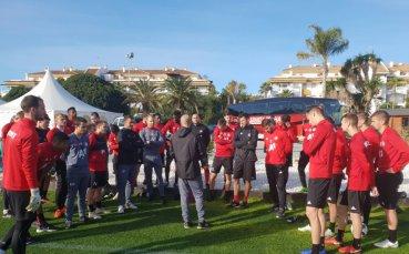 ЦСКА удължава лагера в Испания