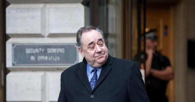 Бившият първи министър на Шотландия Алекс Салмънд, който е един