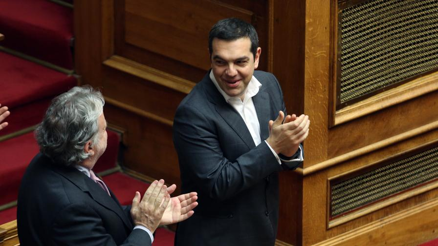 <p>Ципрас: Днес се роди Северна Македония</p>