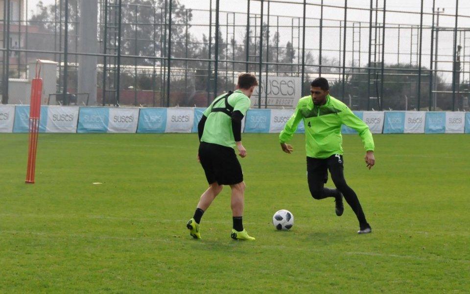 Берое играе в събота третата си контрола в Турция