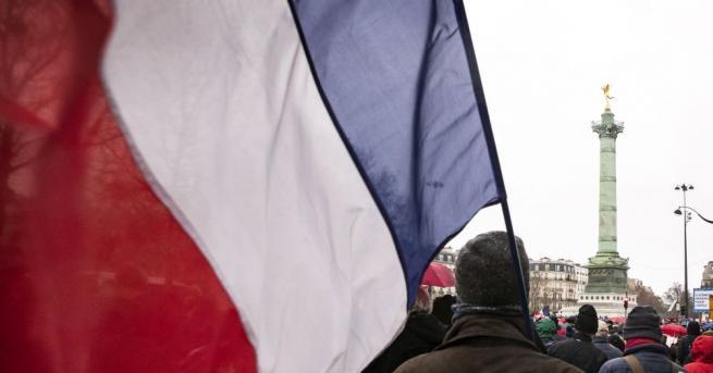 Хиляди ученици и студенти във Франция излязоха на протест срещу